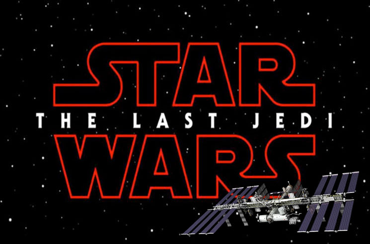'Star Wars: The Last Jedi' Will Screen on the International Space Station