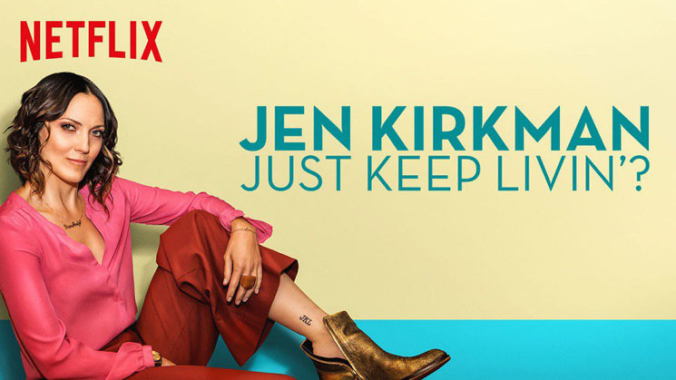 Jen Kirkman Just Keep Livin'?