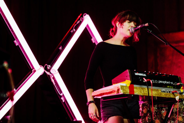 Jessy Lanza / Marie Davidson La Sala Rossa, Montreal QC, July 14