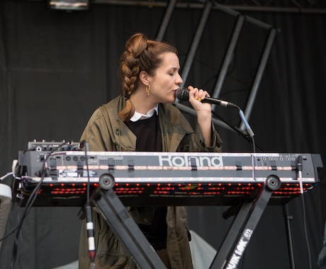 Jessy Lanza James Street North, Hamilton ON, September 13