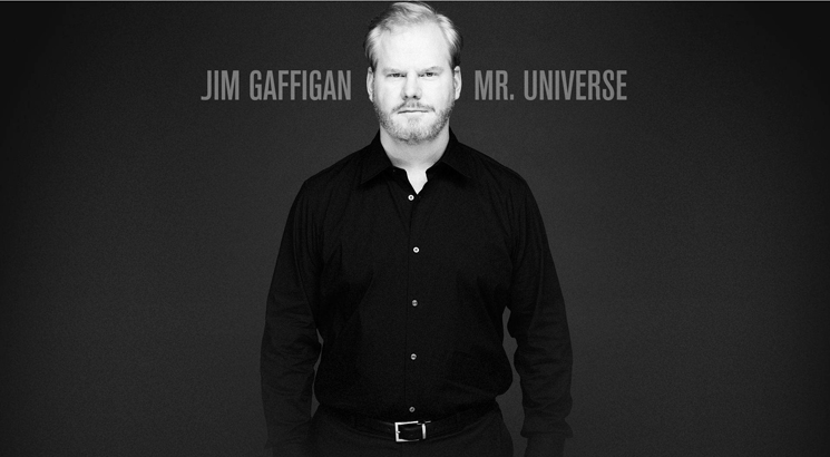 Jim Gaffigan Mr. Universe