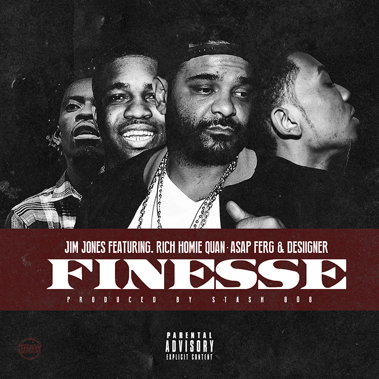 "Jim Jones ""Finesse"" (ft. Rich Homie Quan, A$AP Ferg & Desiigner)"