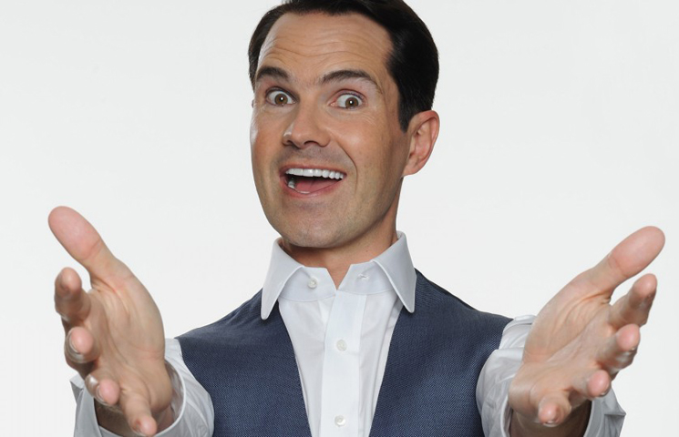 Jimmy Carr's Life 'Is Trying to Feed a Joke Eating Monster, Daily'