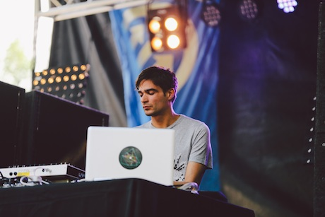 Jon Hopkins Blue Stage, Union Park, Chicago IL, July 20
