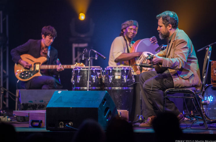 ​Joshua Abrams' Natural Information Society with Hamid Drake Colisée Desjardins A, Victoriaville QC, May 17
