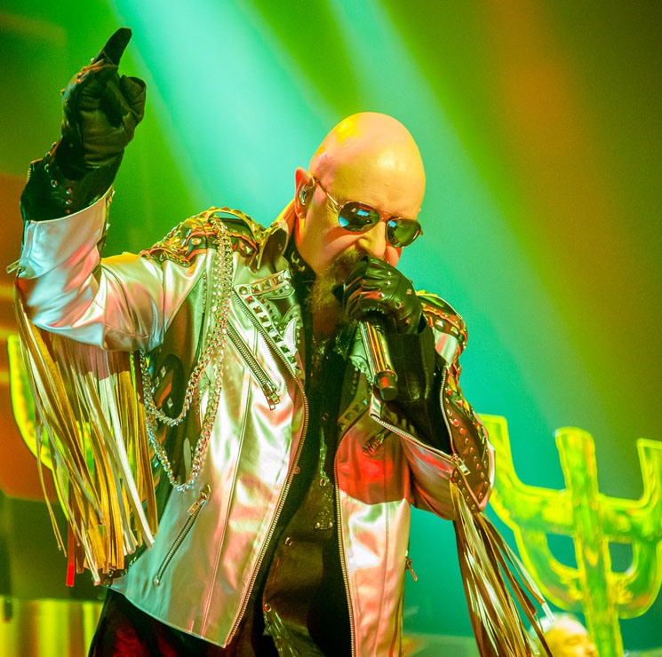 Watch Judas Priest's Rob Halford Kick a Phone from a Fan's Hand