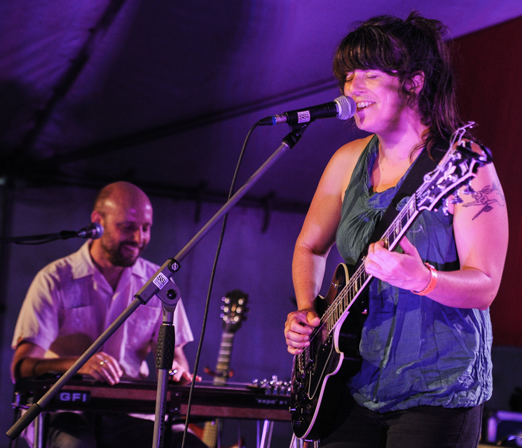 Julie Doiron and the Wooden Stars Mainstage Tent, Sackville NB, July 31