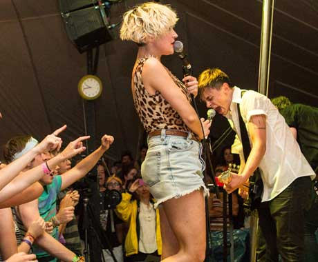July Talk Island Stage, Guelph ON, July 27