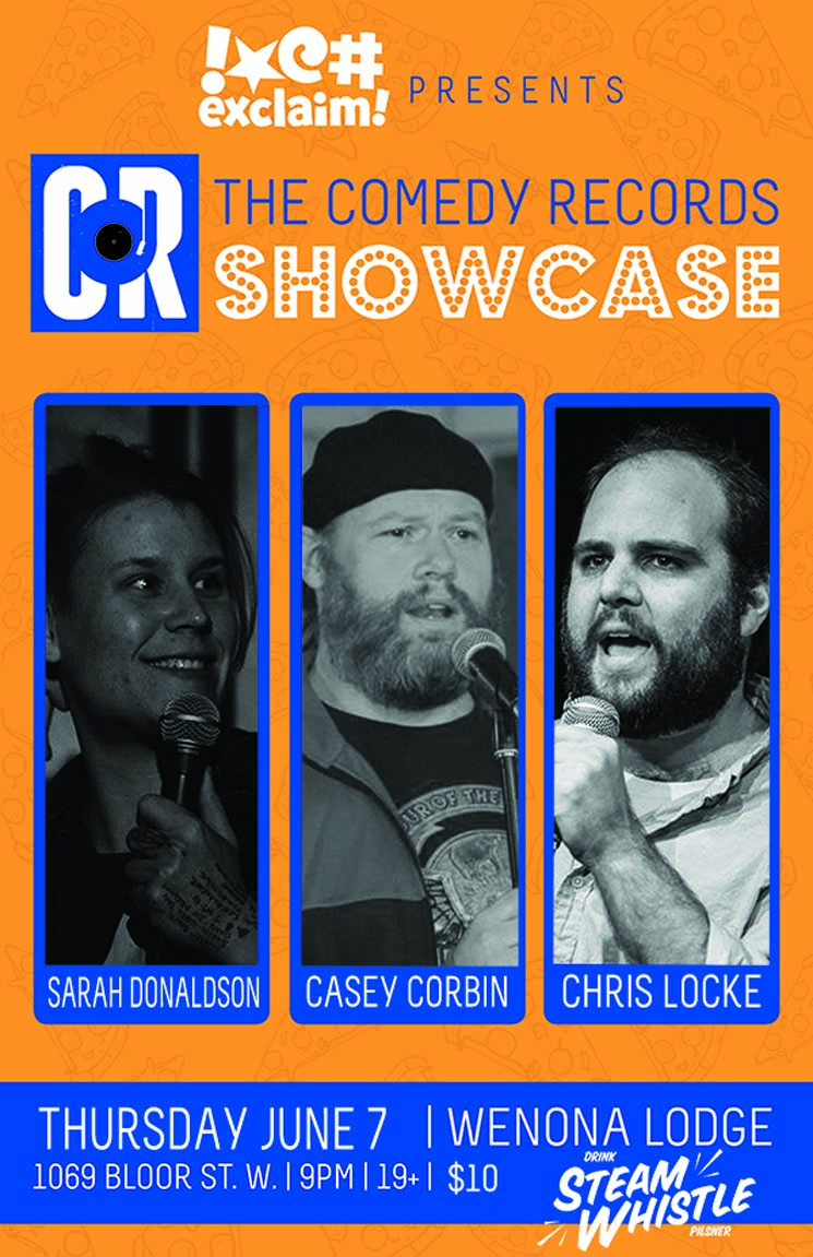 Casey Corbin, Sarah Donaldson and Chris Locke Get Nuts at a Comedy Records/Exclaim! Standup Showcase