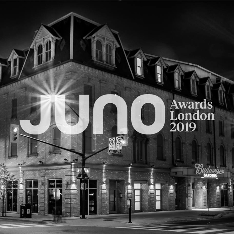 London, Ontario Will Host 2019 JUNO Awards