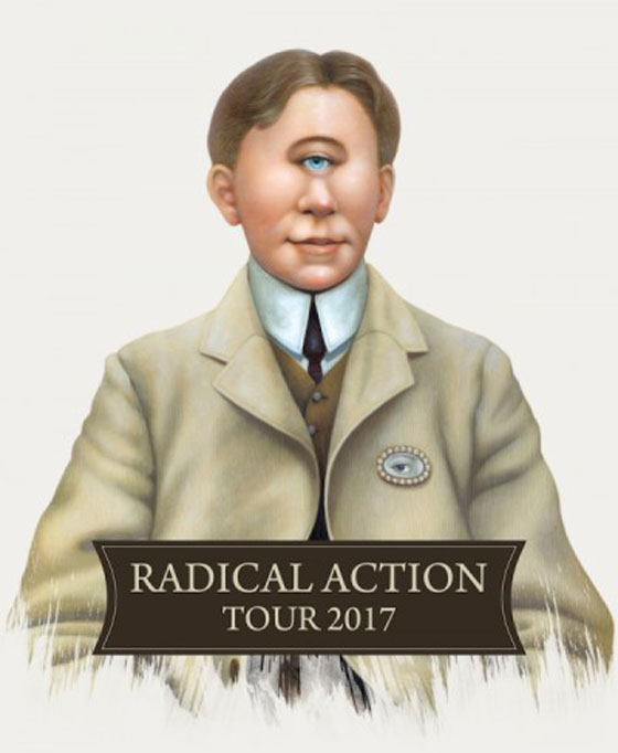 "King Crimson Plot North American ""Radical Action Tour"""