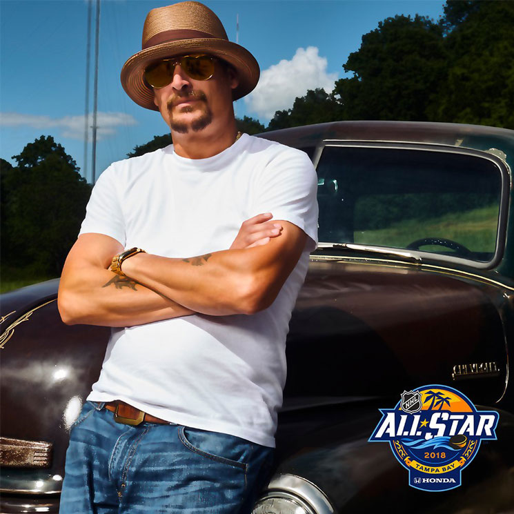 Kid Rock Is Playing the NHL All-Star Game and Hockey Fans Are Pissed