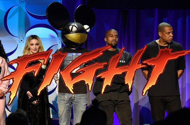 Kanye West Fires Back at deadmau5 over Piracy Allegations