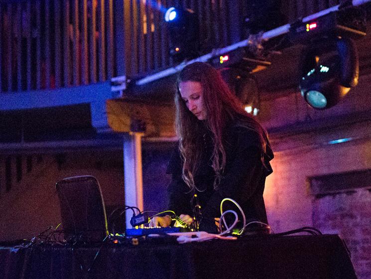 Kara-Lis Coverdale Longboat Hall, Toronto ON, September 29