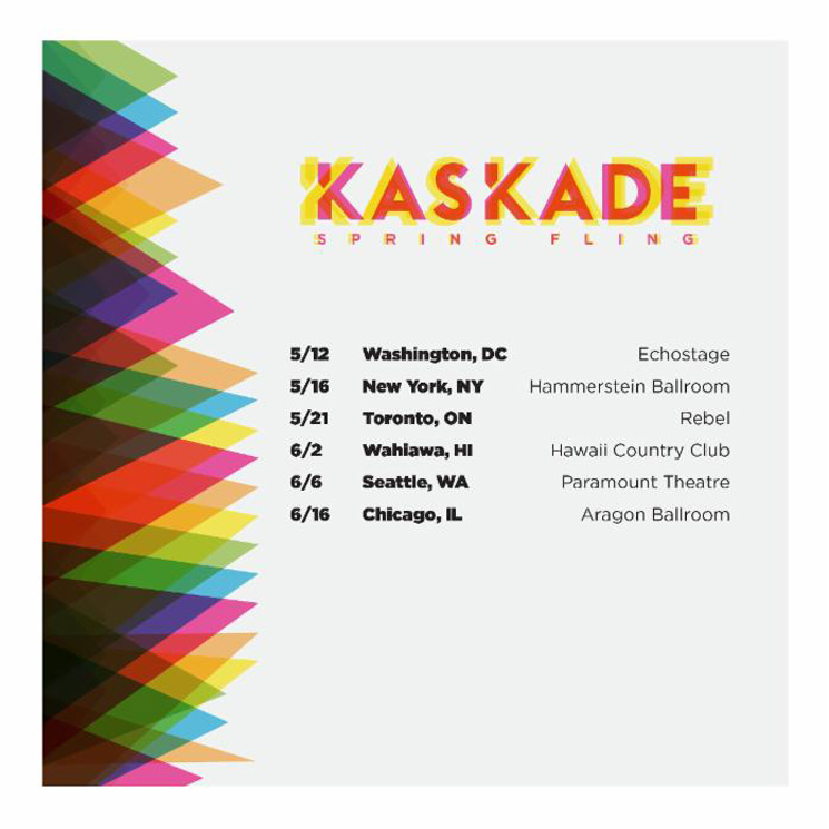Kaskade to Play Toronto on 'Spring Fling' Tour