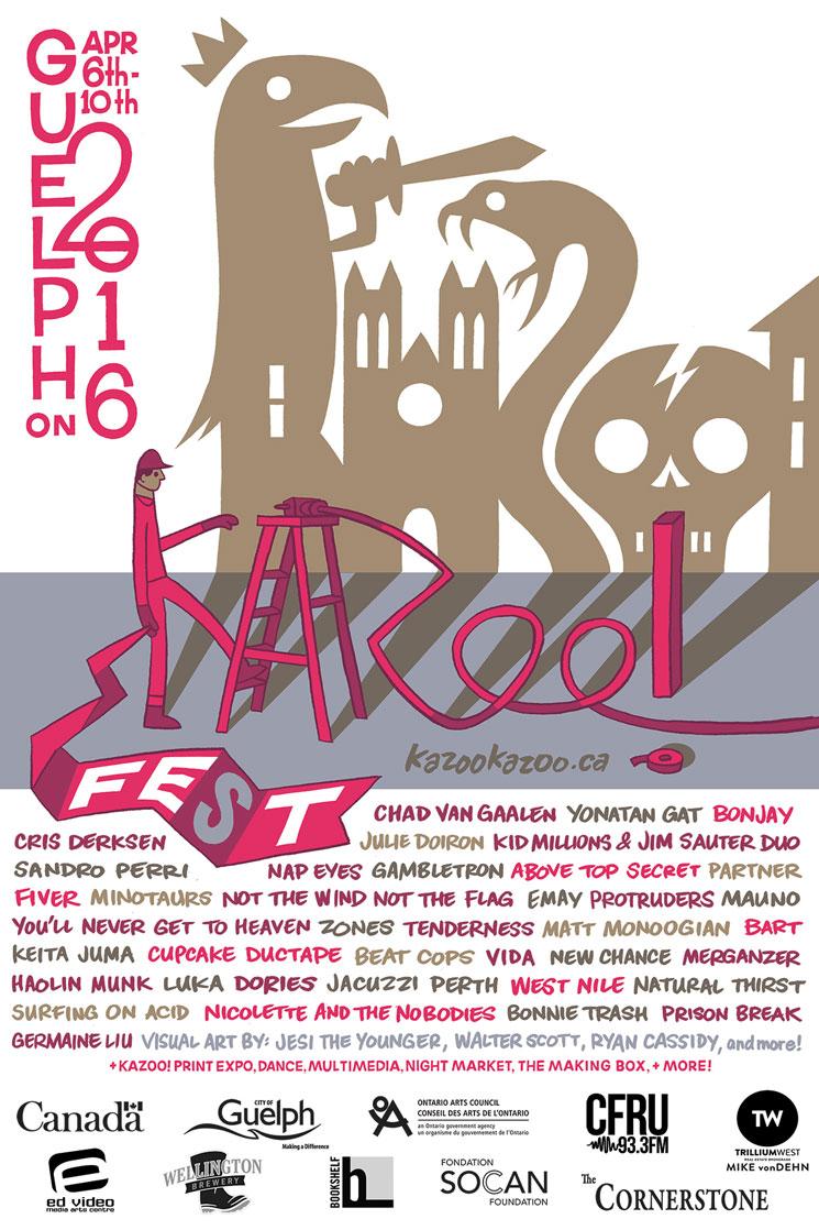 Kazoo! Fest Reveals 2016 Lineup