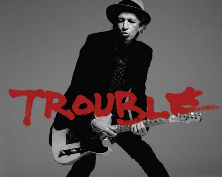 "Keith Richards ""Trouble"""