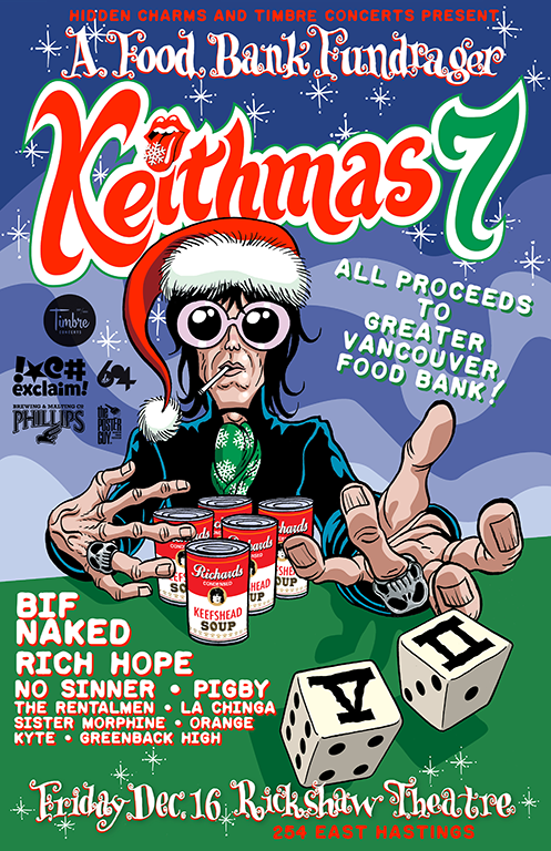 Vancouver's Keithmas Gets Bif Naked, No Sinner, Rich Hope for 2016 Edition