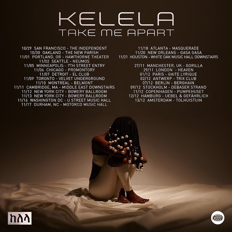 Kelela Plots World Tour Behind 'Take Me Apart'