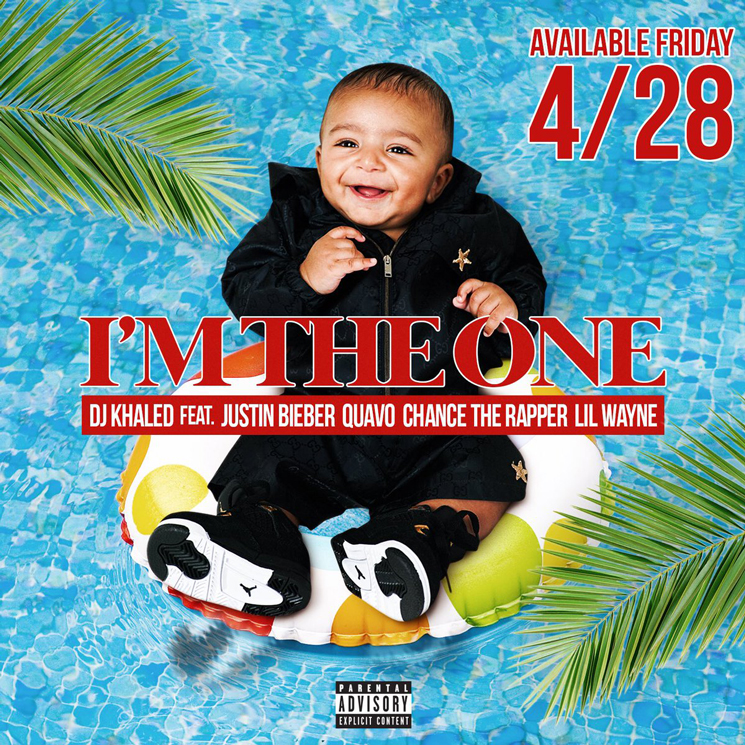 "DJ Khaled Gets Justin Bieber, Quavo, Chance the Rapper and Lil Wayne for ""I'm the One"""