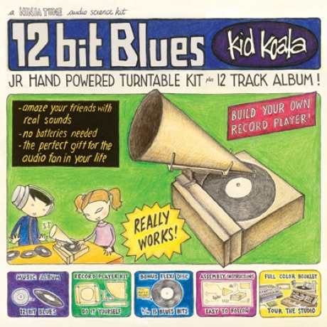 Kid Koala '12 Bit Blues' (album stream)