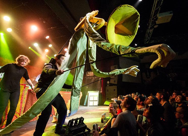 Kid Koala's Vinyl Vaudeville Show Mod Club, Toronto ON, April 27