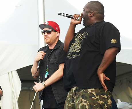 Killer Mike / El-P River Stage, LeBreton Flats, Ottawa ON, July 10