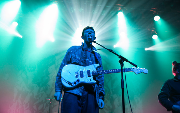 ​King Krule MTELUS, Montréal QC, October 28
