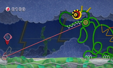 Kirby's Epic Yarn Wii
