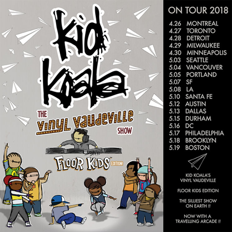 "Kid Koala Maps Out New ""Vinyl Vaudeville"" Tour"