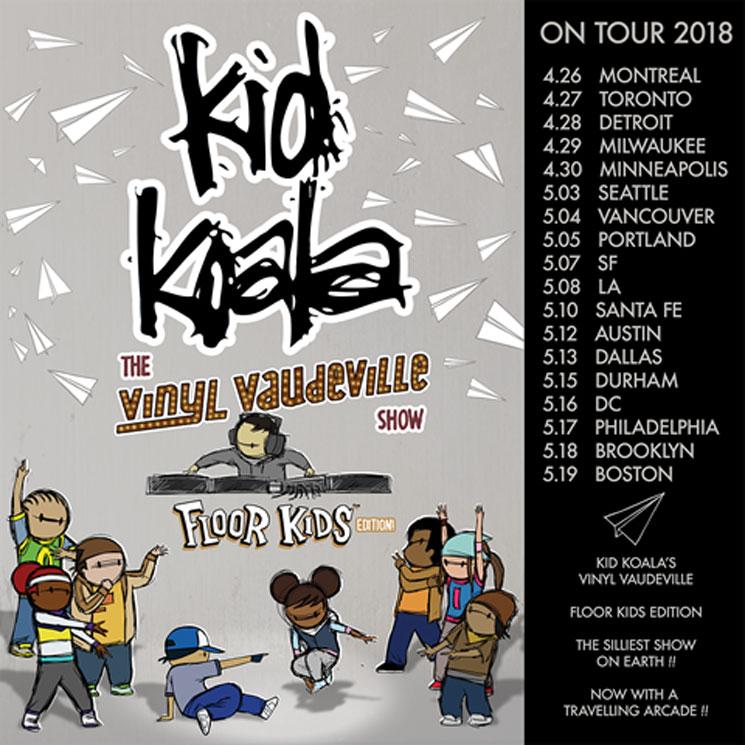Kid Koala Maps Out New 'Vinyl Vaudeville' Tour