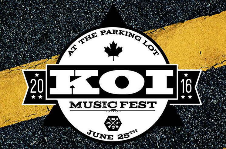 Kitchener's KOI Music Fest Gears Up for 2016 Edition with Sam Roberts Band, Tokyo Police Club, the Strumbellas