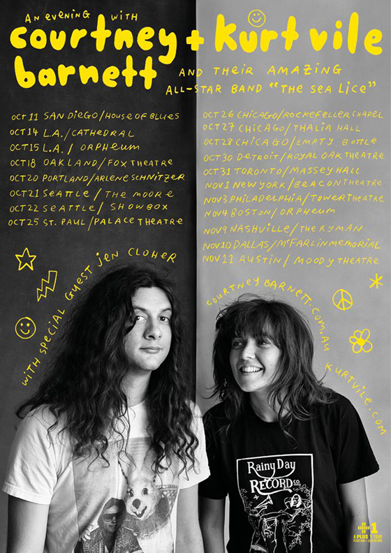 Kurt Vile and Courtney Barnett Team Up for Collaborative Tour