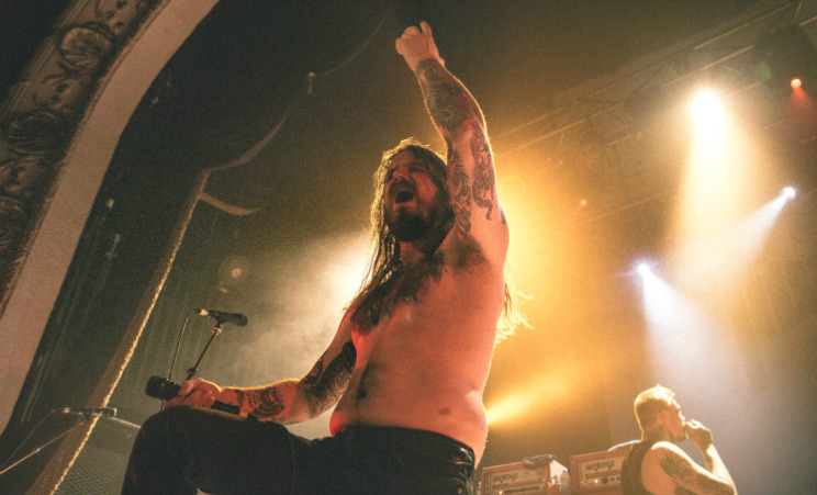 Kvelertak / Torche / Wild Throne Opera House, Toronto ON, April 20