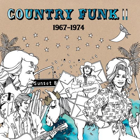 Willie Nelson, Dolly Parton, JJ Cale Collected on Light in the Attic's 'Country Funk Volume II'
