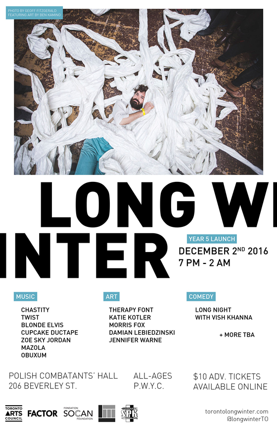 Toronto's Long Winter Details December Launch