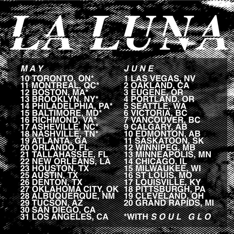 La Luna Plot North American Tour