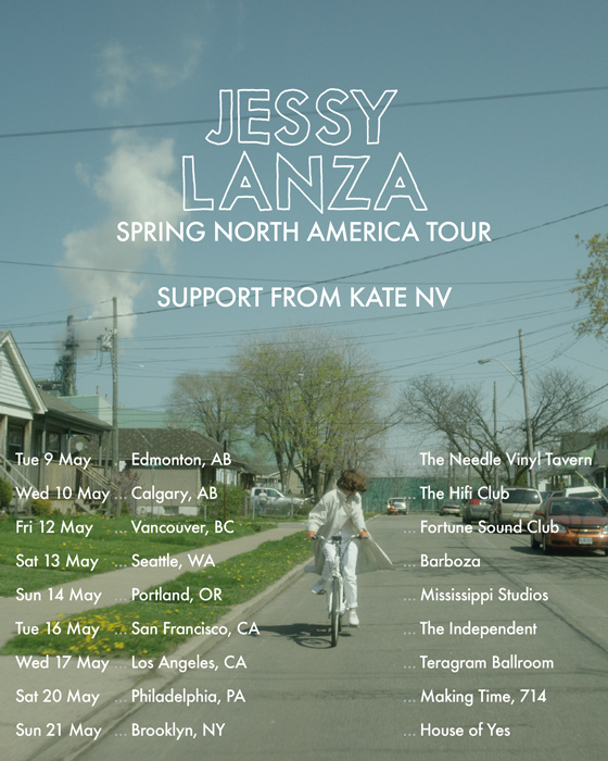 Jessy Lanza Maps Out Spring North American Tour