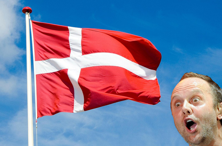 Lars Ulrich Knighted by Danish Crown Prince