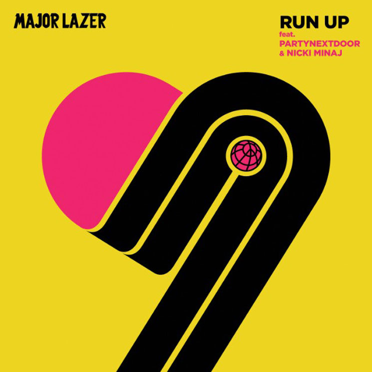 "Major Lazer ""Run Up"" (ft. PARTYNEXTDOOR & Nicki Minaj)"