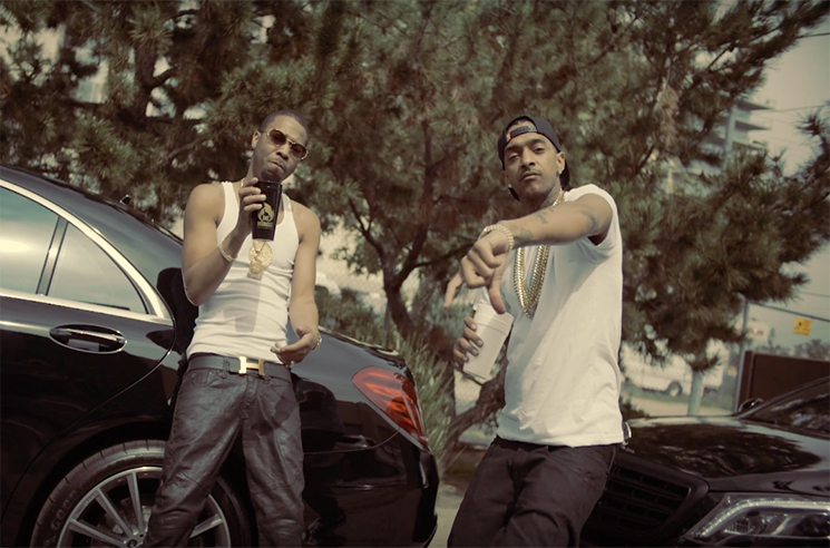 Big Lean 'California Water' (ft. Nipsey Hussle) (video)