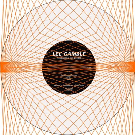 Lee Gamble Diversions 1994 — 1996