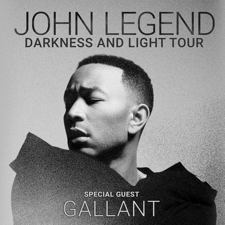 John Legend Plots 'Darkness and Light Tour'