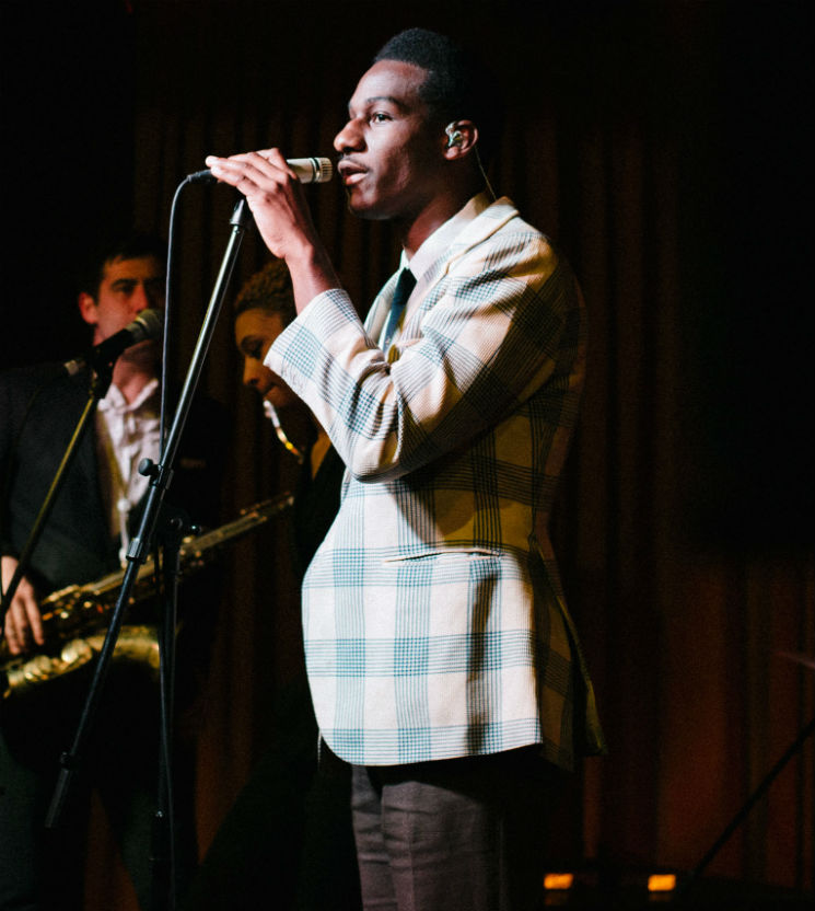 Leon Bridges The Drake Hotel, Toronto ON, May 1