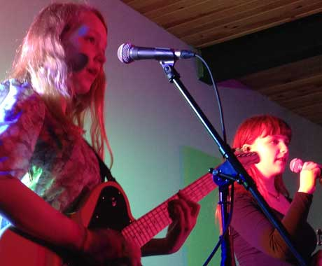 Leslie Amminson & Esme Gilbert Rocket Room, St. John's NF, April 18