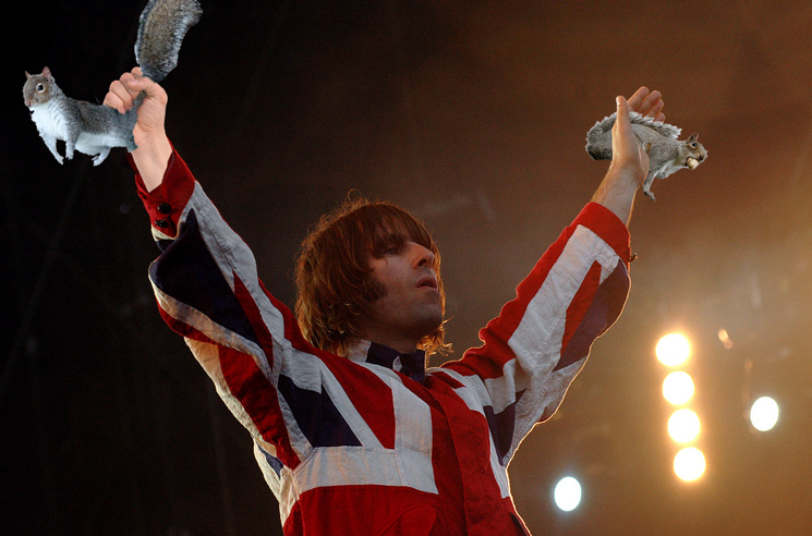 Liam Gallagher Reveals His New Hobby of Chasing Squirrels