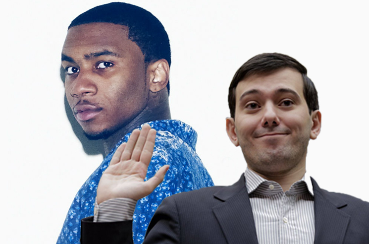 Martin Shkreli Wants to Buy Lil B's Forthcoming 'Black Ken' Mixtape
