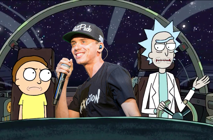 Logic announces surprise mixtape with help from Rick and Morty