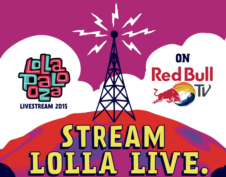 Watch Red Bull TV's Lollapalooza Live Stream