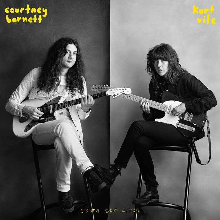 Courtney Barnett & Kurt Vile 'Lotta Sea Lice' (album stream)